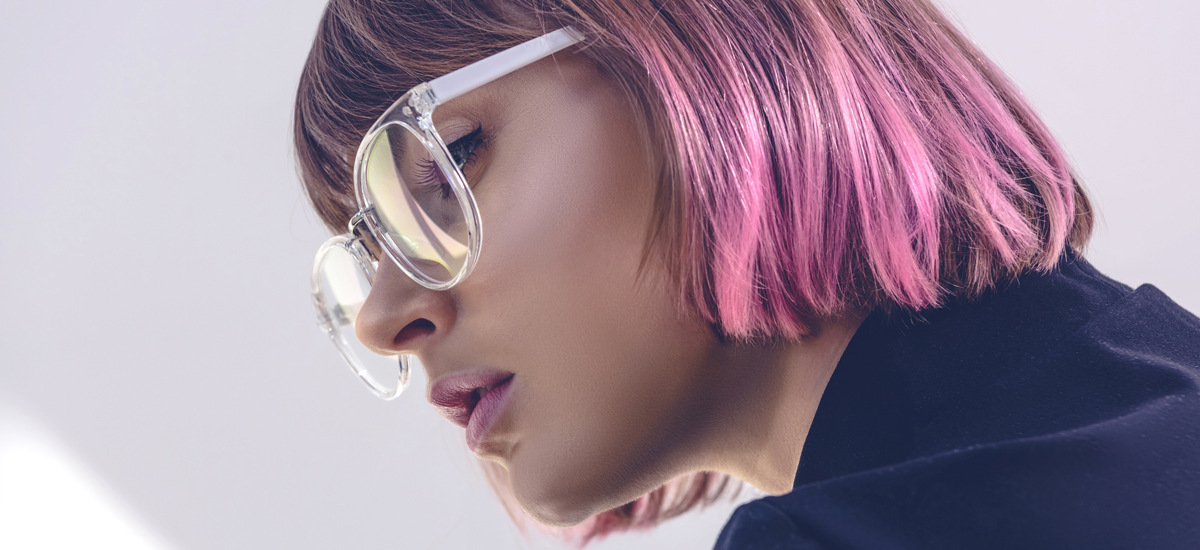 What Color of Glasses Would Look Good With My Hair Color?