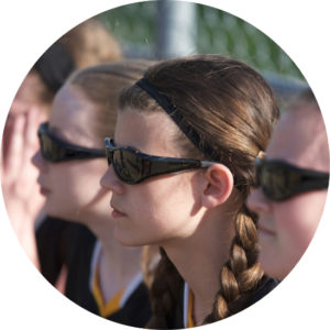 childrens tinted sports goggles